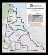 Established and conceptual planning regions of the Yukon